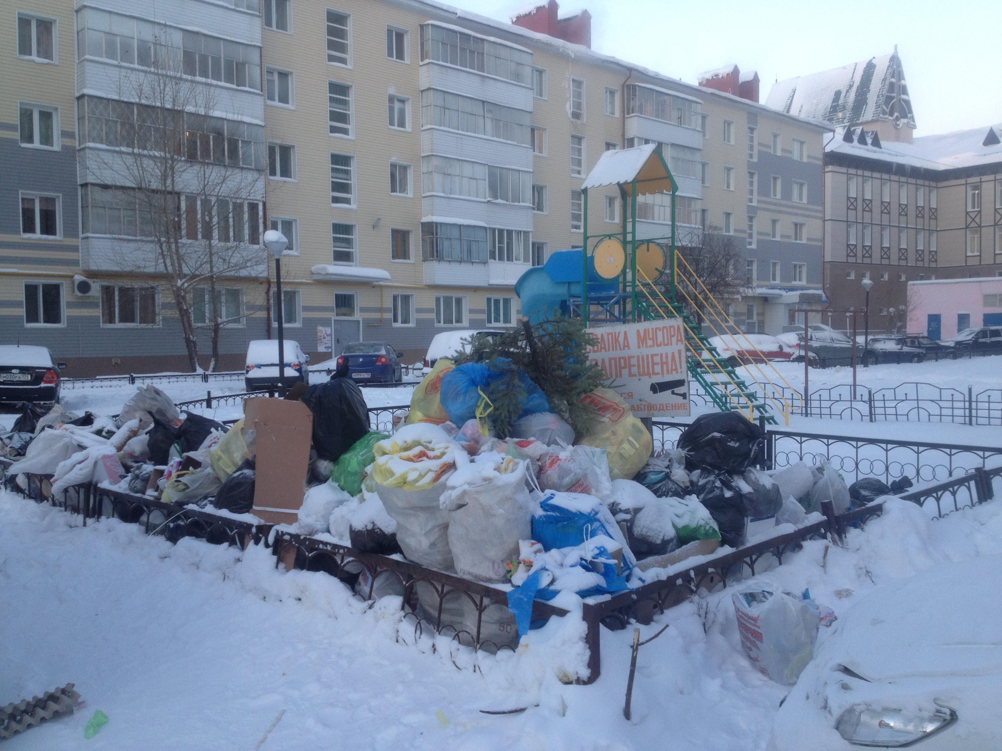 Коллапс по расписанию. Почему Россию завалило «новогодним» мусором