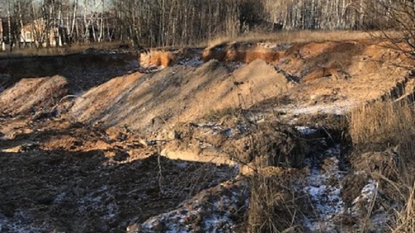Фирма в Рузе выплатит более 1 млн руб штрафа за незаконную добычу песка