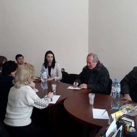 Встреча жителей Рузского ГО с руководителем Рузского филиала ООО «Рузский региональный оператор»