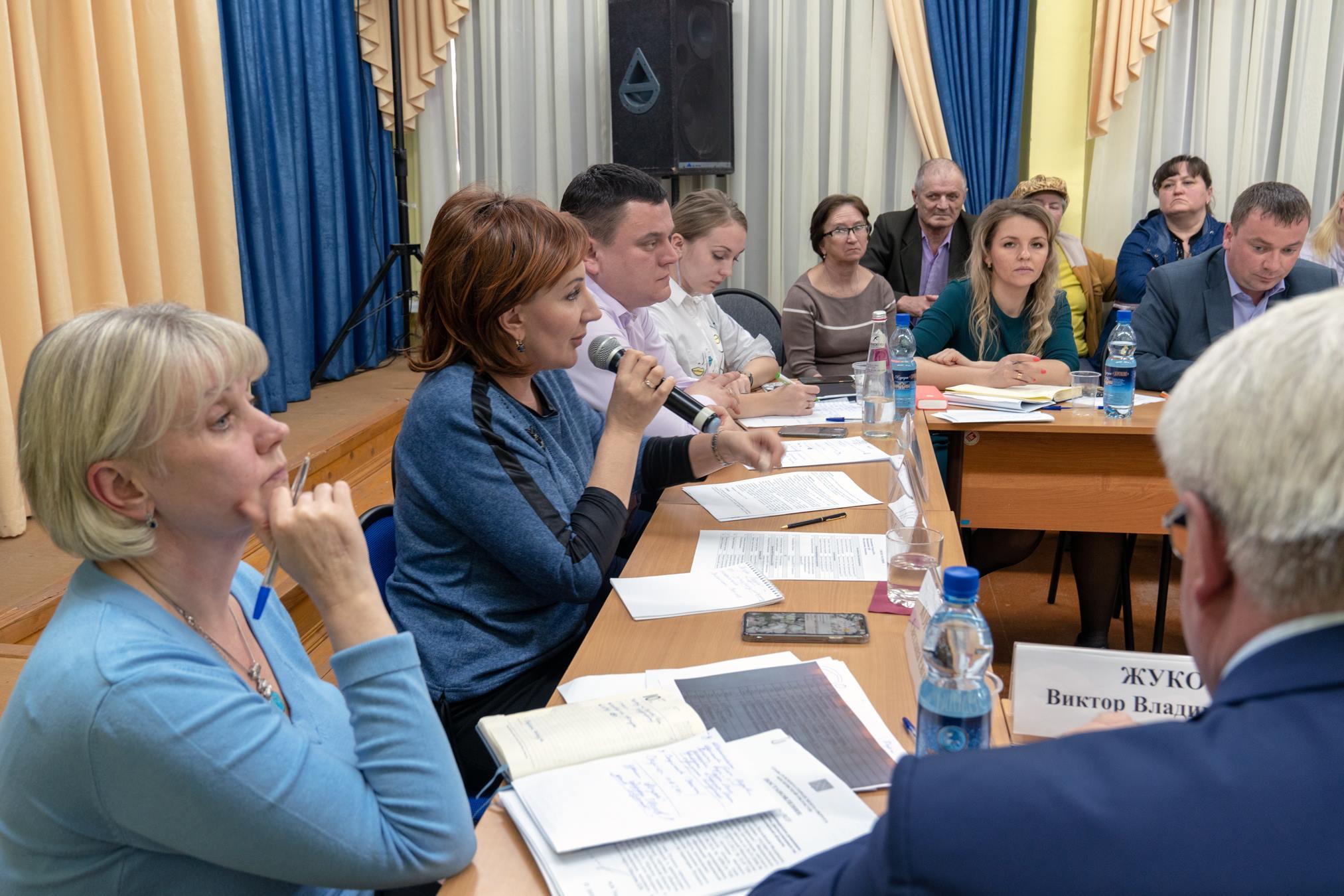 Татьяна Витушева провела встречу с жителями бывшего поселения Волковское